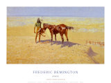 Ridden Down Poster av Frederic Sackrider Remington