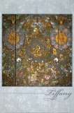 Butterfly Window Print by Louis Comfort Tiffany
