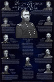 Union Generals Wall Poster