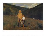 Crossing the Pasture Posters by Winslow Homer