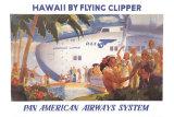 Honolulu Clipper Plakaty