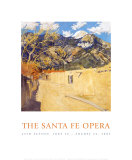 Santa Fe Opera 2002, Old Santa Fe Road, Taos, New Mexico Prints by Walter Ufer