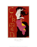 Carmen Prints by John Martinez