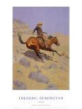 The Cowboy Plakater av Frederic Sackrider Remington
