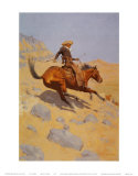 The Cowboy Prints by Frederic Sackrider Remington