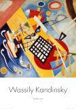 Black Frame Poster by Wassily Kandinsky