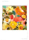 Üppiger Garten Kunstdrucke von Kim Parker