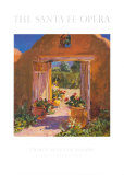 The Garden Gate, Santa Fe Opera 1993 Print by Walt Gonske