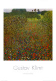 Field of Poppies Pôsteres por Gustav Klimt