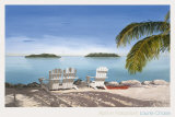April in Paradise II Prints by Laurie Chase