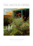 Flower Garden, Santa Fe Opera, 1995 Prints by Dan Bodelson