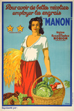 Manon (c. 1925) Collectable Print by Viano