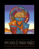 Evening Star (Indian Market), 1999 Prints by Joe Maktima