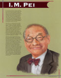 Great Asian Americans - I.M. Pei Plakat