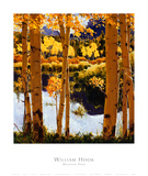 Mountain Pond Posters by William Hook