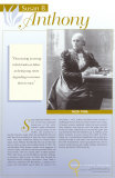 Pioneers of Women's Rights - Susan B. Anthony Prints