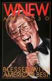 WNEW Mel Torme (1973) Collectable Print