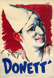 Donett Clown (c.1930) Collectable Print by Bois