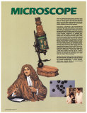 The Microscope, Inventions that Changed the World, Poster