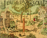 Jeu de la Bascule (c^1905) Collectable Print