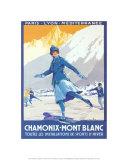 Chamonix - Mont Blanc Affiches par Roger Soubie