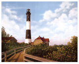 West Channel Lighthouse Prints by Daniel Pollera