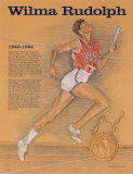 Great American Women - Wilma Rudolph Posters