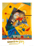 Ruhige Harmonie Poster von Wassily Kandinsky