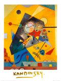 Stilla harmoni Planscher av Wassily Kandinsky