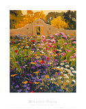 Adobe Compound Garden Posters by William Hook