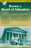 Brown v. Board of Education Topeka, Kansas, Landmark Decisions of the Supreme Court posters