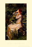 Ophelia Art by John William Waterhouse