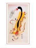 Arrastrándose Lámina por Wassily Kandinsky