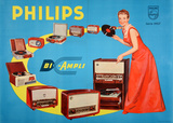 Philips - Bi Ampli (c.1957) Collectable Print