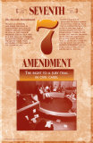 The Bill of Rights - Seventh Amendment Poster