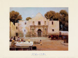 Chili Queens at the Alamo Prints by Julian Robert Onderdonk