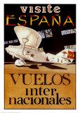 Visite Espana Print