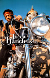 Jimi Hendrix - Motorcycle Photo