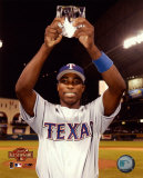 Alfonso Soriano - 2004 All Star Game - MVP Trophy Photo