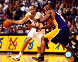 Tayshaun Prince & Kobe Bryant - 2004 NBA Finals Photo