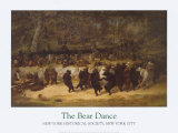 The Bear Dance Art by William Holbrook Beard