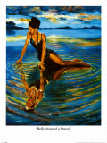 Reflections of a Queen Prints by A. Smith