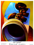 Mo' Trumpet Posters by Maurice Evans