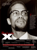 Malcolm X Stampe