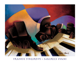 Frankie Fingertips Prints by Maurice Evans