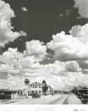 Andreas Feininger - Route 66, Arizona, 1947 - Reprodüksiyon