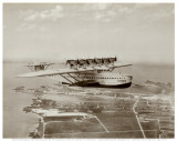 Dormier Do-X, in Flight over Norfolk, Virginia, 1931 Posters