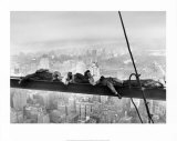 Sleeping Above Manhattan Prints