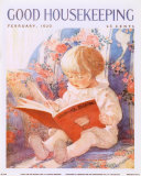 Good Housekeeping, February 1920 Posters tekijänä Jessie Willcox-Smith