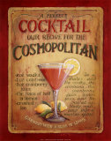 Cosmopolitan Print by Lisa Audit